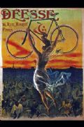 Vintage cycling poster - Deesse